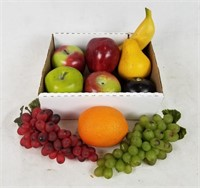 Realistic Faux Fruit Lot
