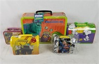 New Metal Lunchbox Lot