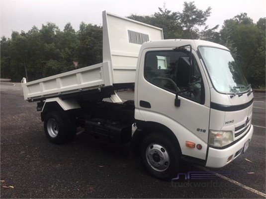 2010 Hino 300 Series 616 Tipper Trucks for Sale