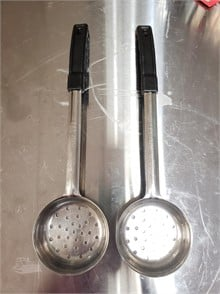6 OZ PERFORATED PORTION SPOONS X2 Other Items For Sale - 1