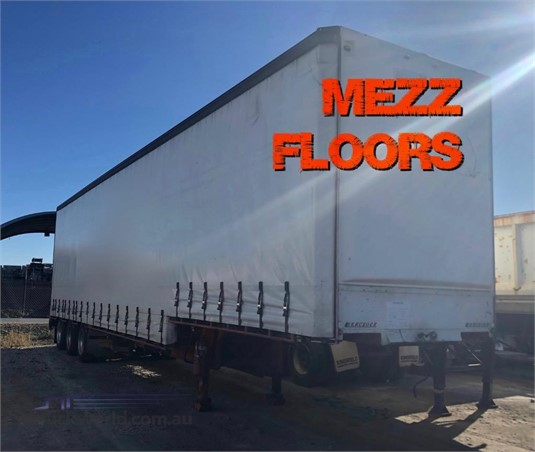 2003 Krueger Drop Deck Curtainsider Trailer Southern Star Truck Centre Pty Ltd  - Trailers for Sale