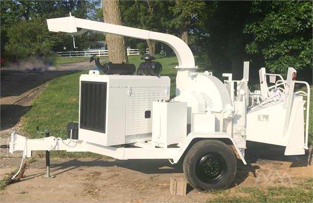 ALTEC DC1217 Pull-Behind Wood Chippers Logging Equipment For
