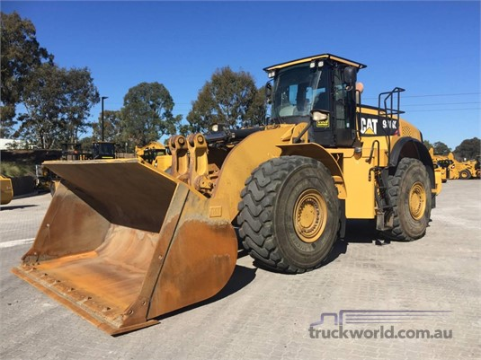 2013 Caterpillar 980K Heavy Machinery for Sale