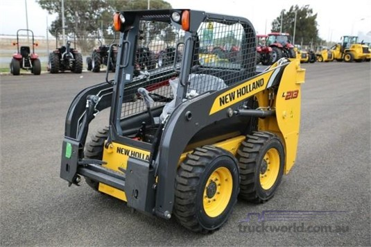2019 New Holland L213 Heavy Machinery for Sale