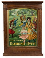 "Diamond Dyes ""Governess"" cabinet"