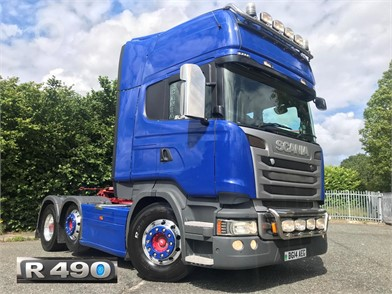 Used SCANIA R490 Trucks for sale in the United Kingdom - 11