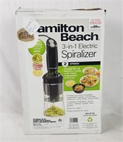 Hamilton Beach 3-in-1 Spiralizer Sku R1701