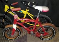 2 Children's Bikes