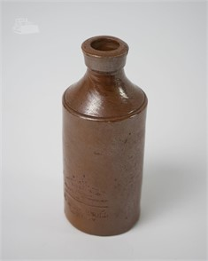 Antique Deney Pottery London Stoneware Bottle Other Items