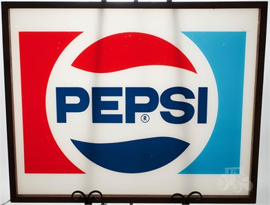 Framed Pepsi Vending Machine Sign Other Items For Sale 1