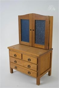 Vintage Salesman Sample Style Cabinet Other Items For Sale