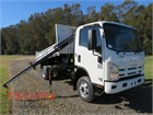 2008 Isuzu NPS300 Crane Truck