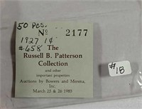 Uncirculated Roll of 1927 Lincoln Cents