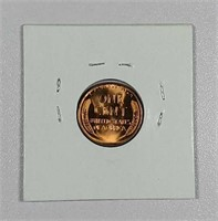 1936  Lincoln Cent   Gem BU-65 Red