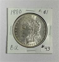 1880  Morgan Dollar  BU