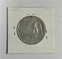 1925  Stone Mountain Comm. Half Dollar  AU