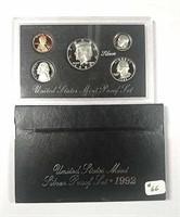 1992  US. Mint Silver Proof set