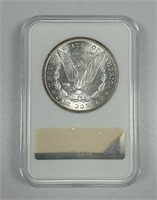 1880  Morgan Dollar  NGC MS-63  Fatty Holder