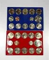 2008-P & D  US. Mint Uncirculated sets