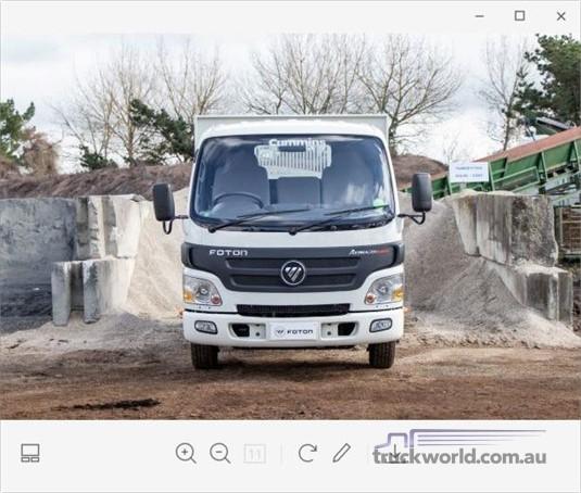 2018 Foton ISF 2.8 SWB - Trucks for Sale