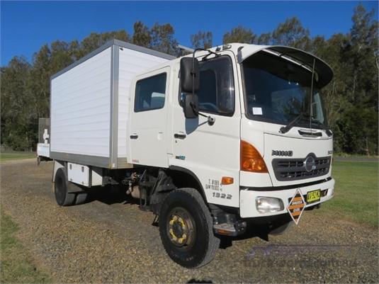 2007 Hino 500 Series 1322 GT 4x4 Crew - Trucks for Sale
