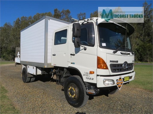 2007 Hino 500 Series 1322 GT 4x4 Crew Midcoast Trucks - Trucks for Sale