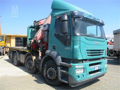 IVECO STRALIS 450 Crane Trucks For Sale - 9 Listings