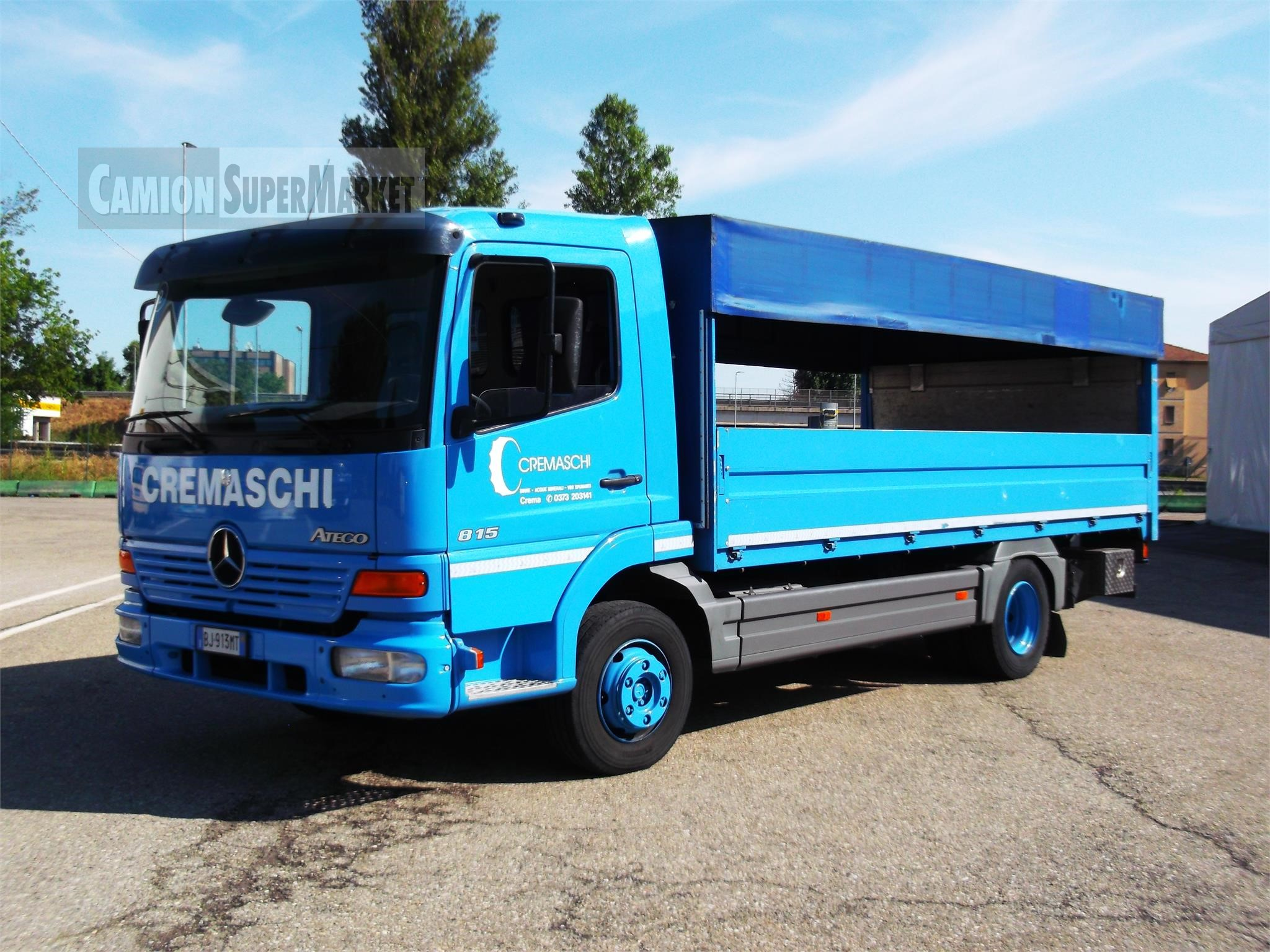Mercedes-Benz ATEGO 815 used