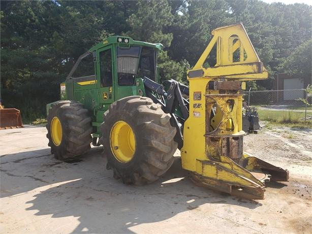 DEERE Feller Bunchers Logging Equipment For Sale - 180