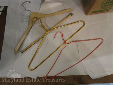 Coat Clothing Hangers Other Items For Sale 4 Listings