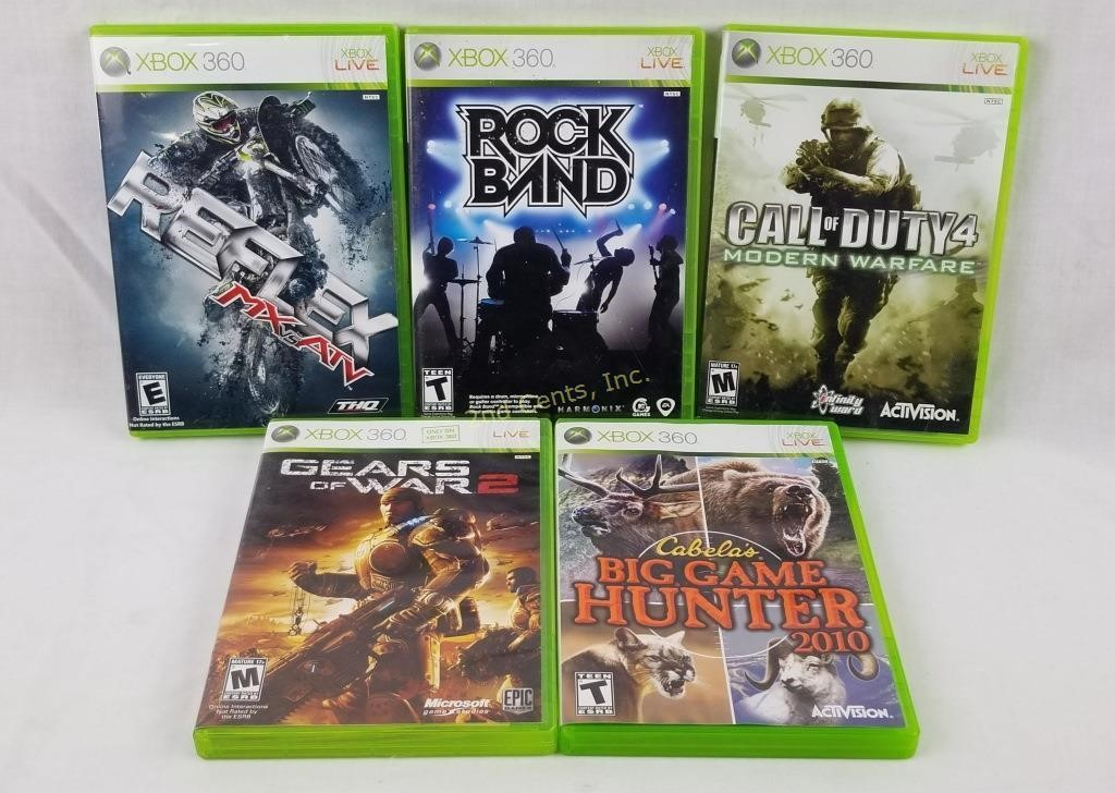 Lot Of Xbox 360 Games Call Of Duty Gears Of War 2nd Cents Inc