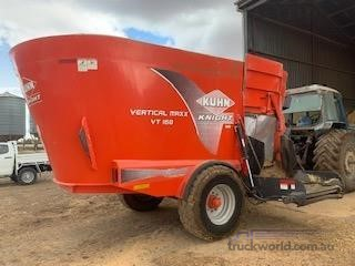 Kuhn VT168 Black Truck Sales - Farm Machinery for Sale