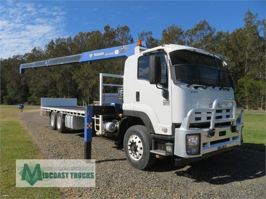 2014 Isuzu FVY 1400 Midcoast Trucks - Trucks for Sale