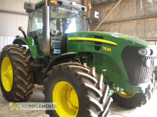 2007 John Deere 7830 Ag Implements - Farm Machinery for Sale