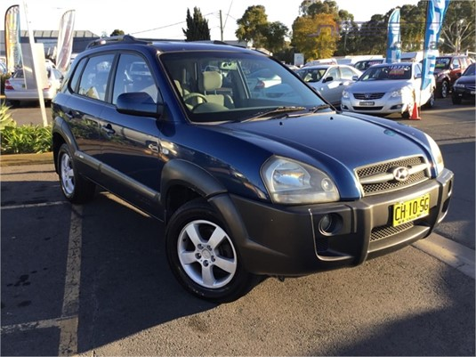 2004 Hyundai Tucson Light Commercial for Sale
