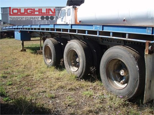 1980 Freighter Flat Top Trailer Loughlin Bros Transport Equipment - Trailers for Sale