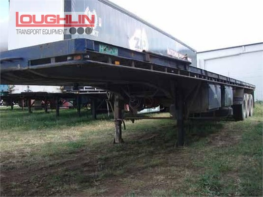 2002 Haulmark Flat Top Trailer Loughlin Bros Transport Equipment - Trailers for Sale