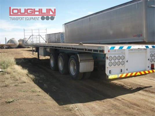 2011 Southern Cross Flat Top Trailer Loughlin Bros Transport Equipment - Trailers for Sale
