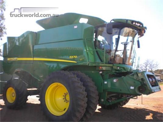 2014 John Deere S670 Farm Machinery for Sale