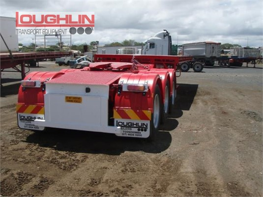 1990 Rentco Flat Top Trailer Loughlin Bros Transport Equipment - Trailers for Sale