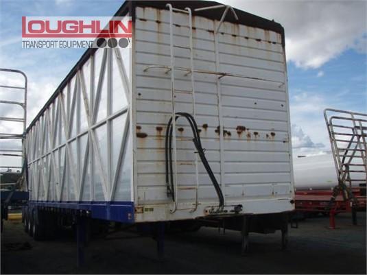 2003 Byrne Walking Floor Trailer Loughlin Bros Transport Equipment - Trailers for Sale