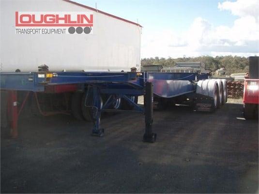 2010 Ophee Skeletal Trailer Loughlin Bros Transport Equipment  - Trailers for Sale