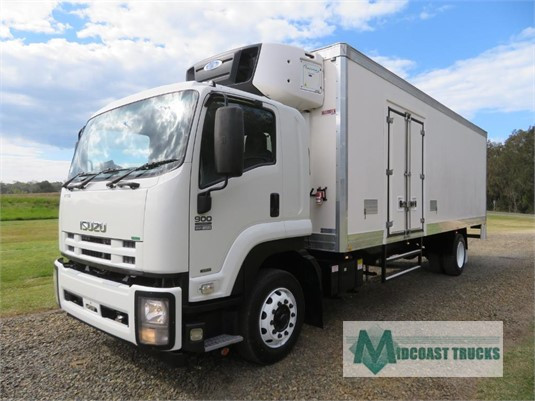 2013 Isuzu FTR 900 Long Premium AMT Midcoast Trucks - Trucks for Sale