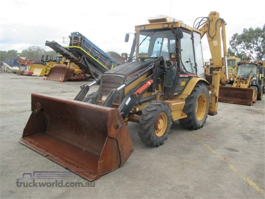 2001 Caterpillar 432D - Heavy Machinery for Sale