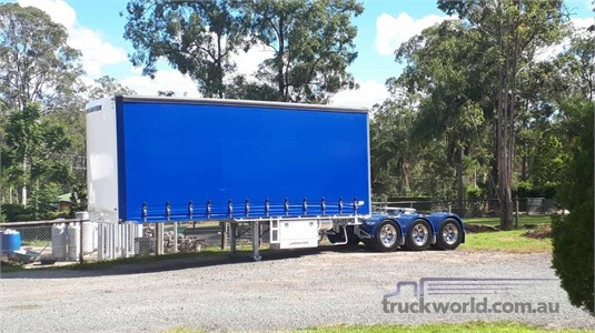 2006 Maxitrans 12 PALLET CURTAINSIDER SEMI A TRAILER - Trailers for Sale