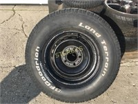 Spare Tire - LT235/75 R15