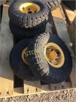 4 Cart tires