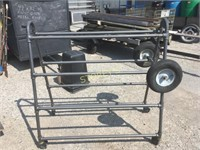 Rolling A-Frame Rack