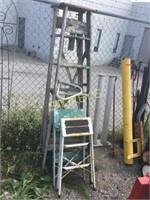 4 Asst Ladders / Step Stools
