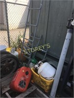 Job Lot; Tires, Propane Tanks, Ladders, Etc.